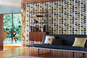 Английские обои Harlequin Orla Kiely Wallpapers Striped