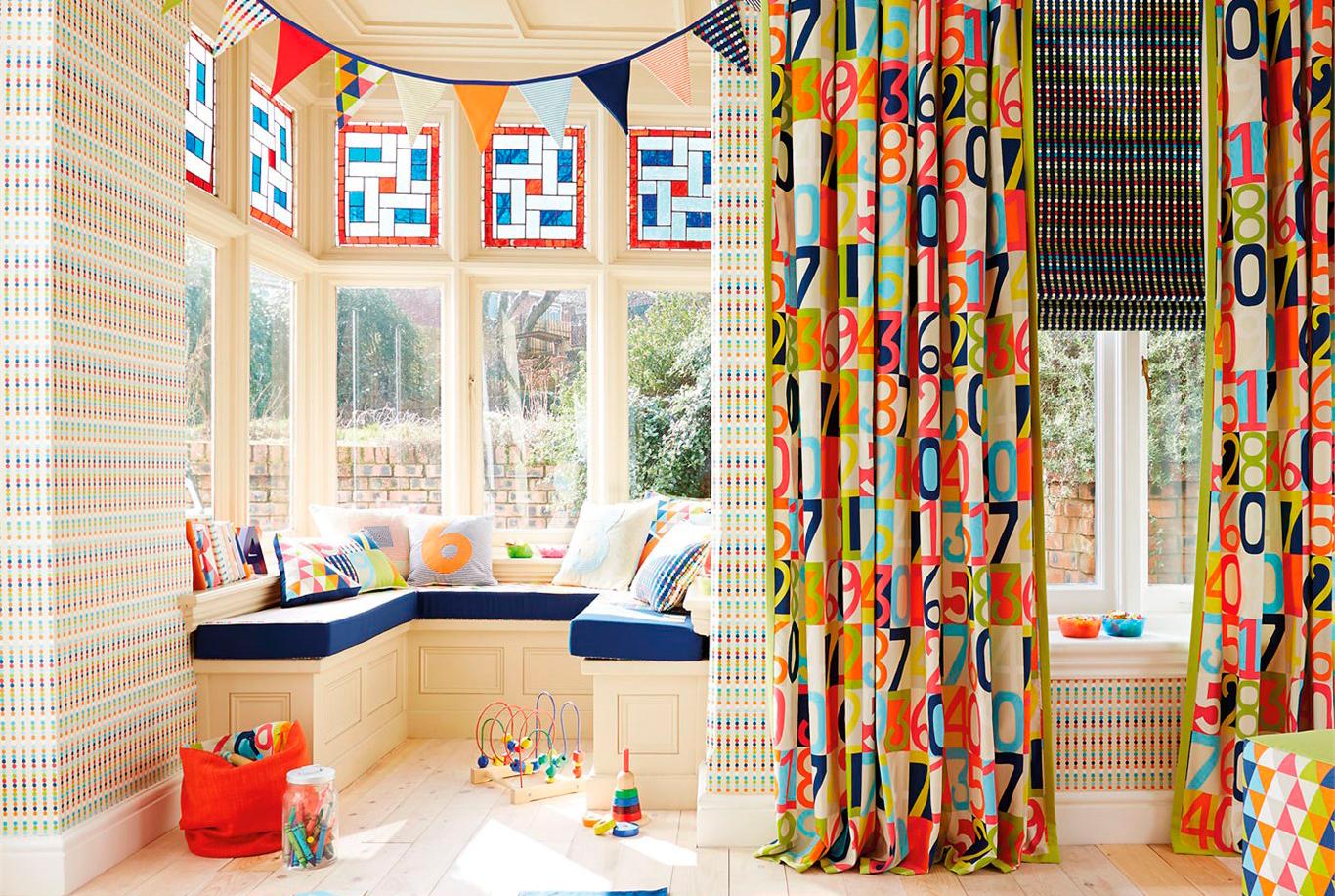 Декор штор в детской своими руками фото идеи 41